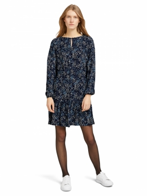 000000 703032 [dress with f] 26285 navy mult