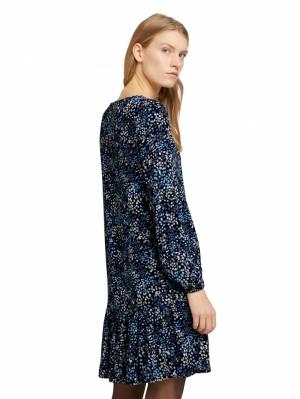 000000 703032 [dress with f] 26285 navy mult