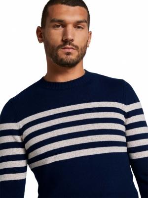 000000 103024 [striped crew] 26297 navy whit