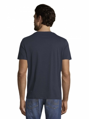 000000 101010 [t-shirt with] 10302 Dark Blue