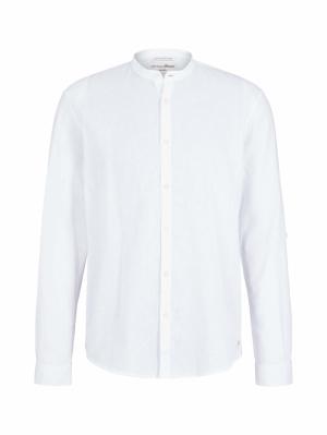 000000 122020 [linen shirt] 20000 White