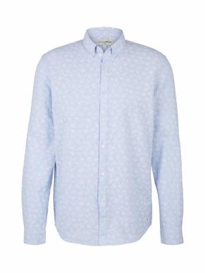 000000 122020 [linen shirt] 26490 blue smal