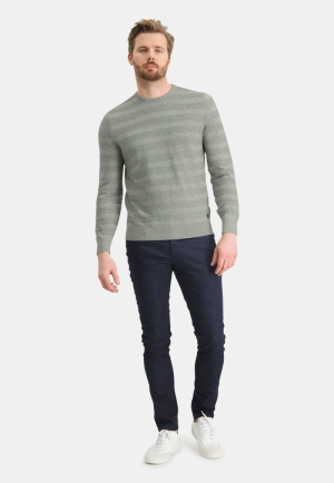 113000 113000 [Pullovers] 3736 mosgroen
