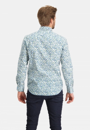 113310 113310 [Shirts LM] 3653 bladgroen