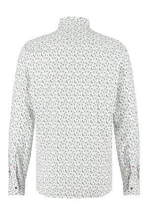 113310 113310 [Shirts LM] 3957 donkergroe
