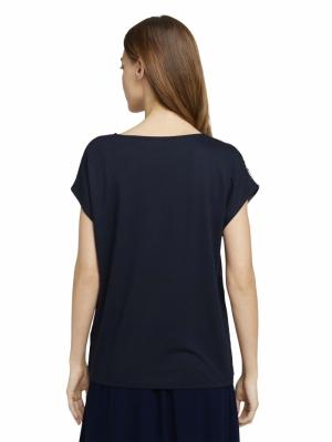 000000 701010 [T-shirt fabr] 24312 navy flor
