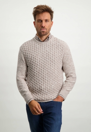 113000 113000 [Pullovers] 8614 sepia