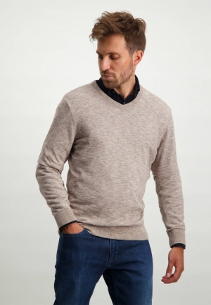 113001 113001 [Pullovers] 8614 sepia