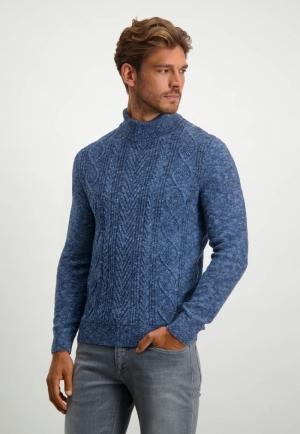 113002 113002 [Pullovers] 5957 donkerblau