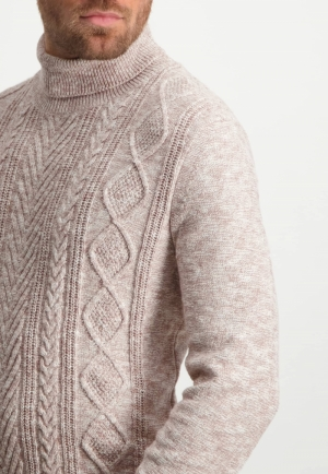 113002 113002 [Pullovers] 8614 sepia