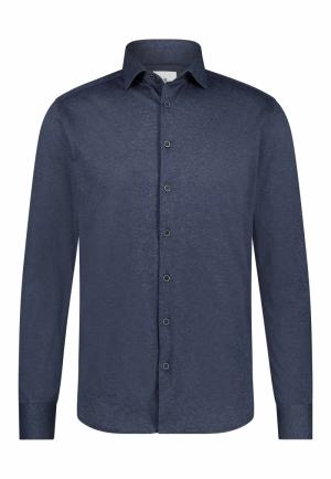 113310 113310 [Shirts LM] 5900 donkerblau