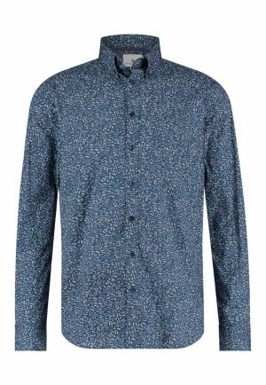 113310 113310 [Shirts LM] 5714 kobalt