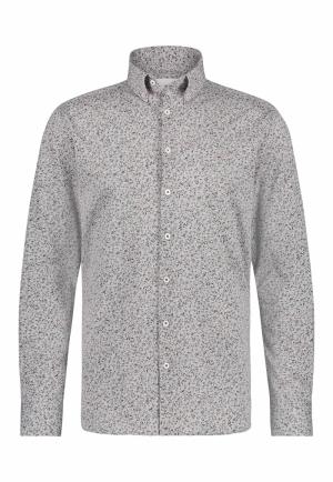 113310 113310 [Shirts LM] 9259 zilvergrij