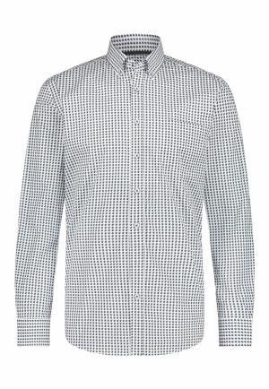 113310 113310 [Shirts LM] 5992 donkerblau