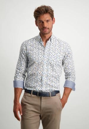 113310 113310 [Shirts LM] 5957 donkerblau